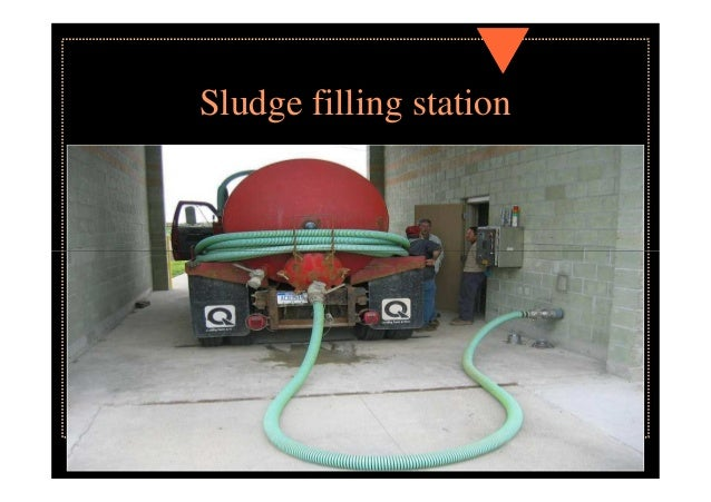 Land disposal of sludge