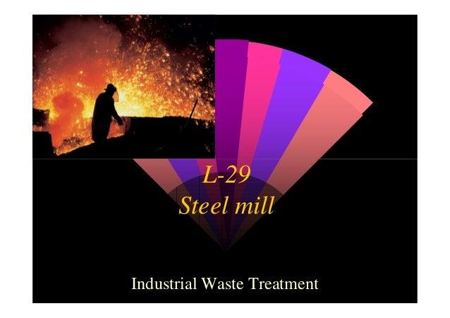 L-29 Steel mill Industrial Waste Treatment
