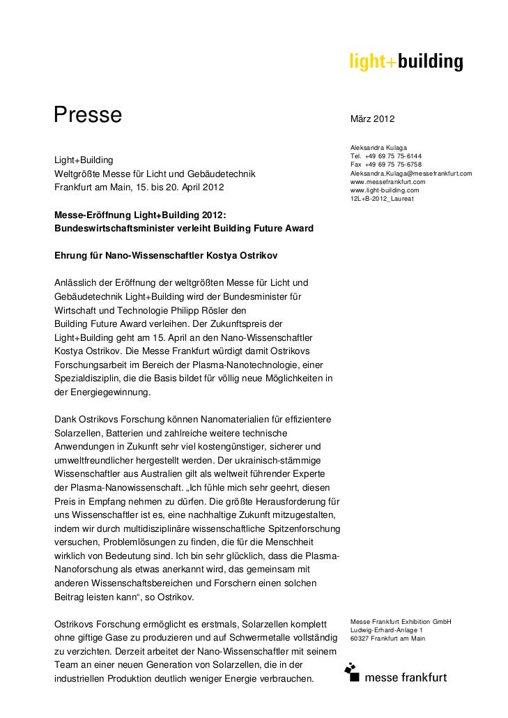 Presse                                                                    März 2012                                       ...