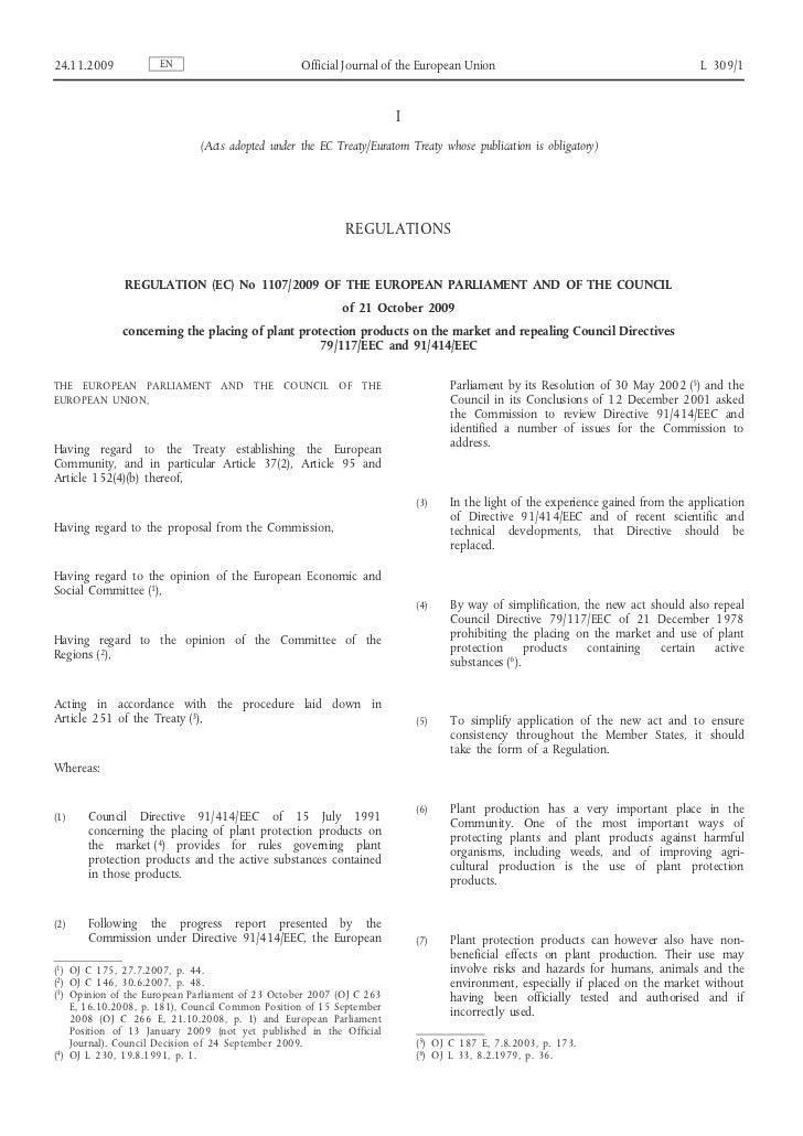 24.11.2009           EN                           Official Journal of the European Union                                  ...
