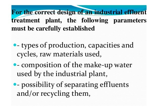 L 3 Quality And Quantity Of Industrial Wastes