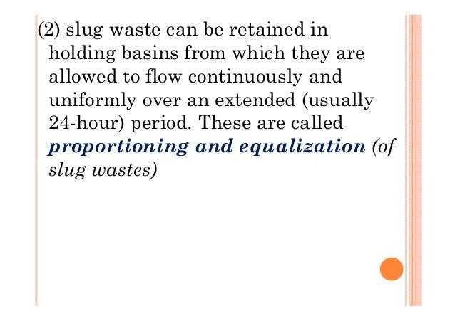 L 7 Waste Volume Reduction