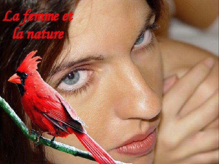 La femme et  la nature