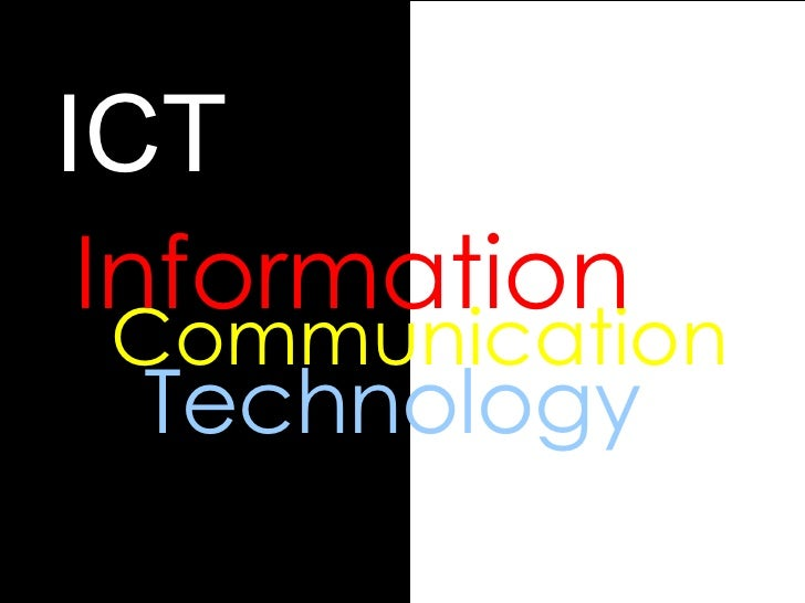 Technology ICT Communication Information