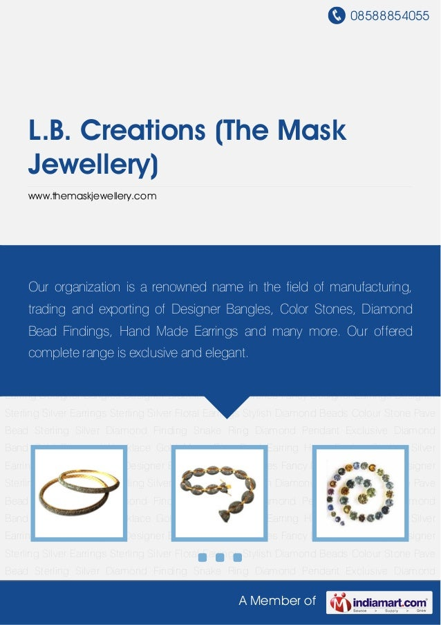 08588854055A Member ofL.B. Creations (The MaskJewellery)www.themaskjewellery.comDesigner Bangles Designer Bracelets Colour...