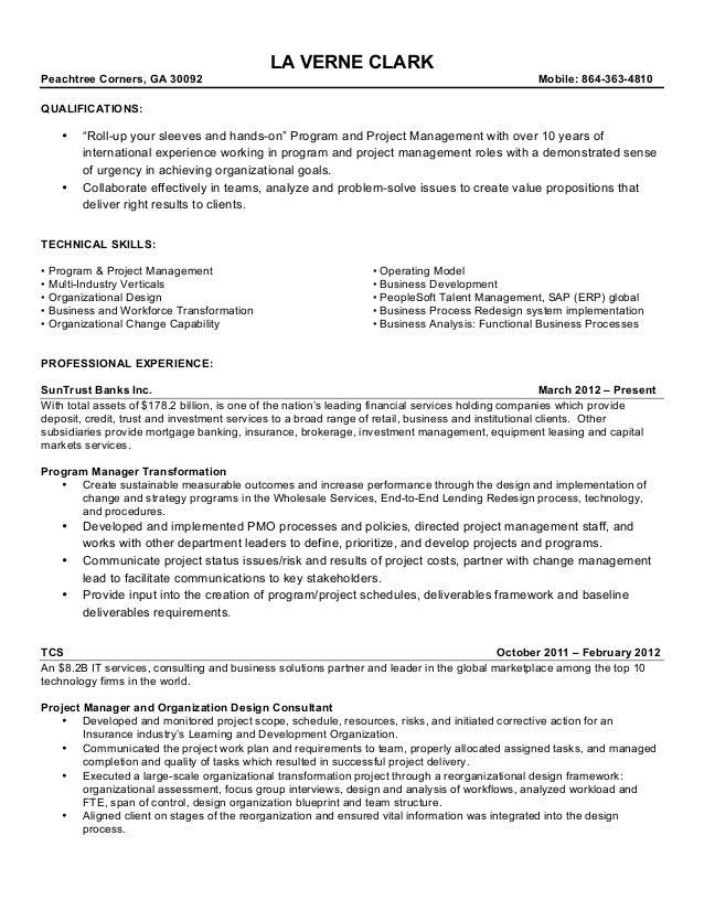 process technology resume