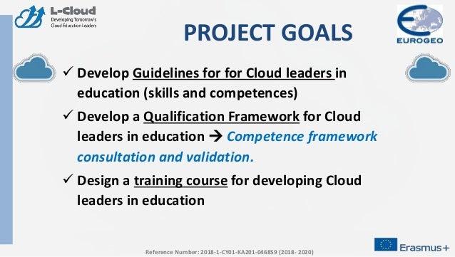 L Cloud: Developing Tomorrow's Cloud Education Leaders Slide 3