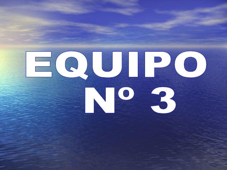 EQUIPO Nº 3