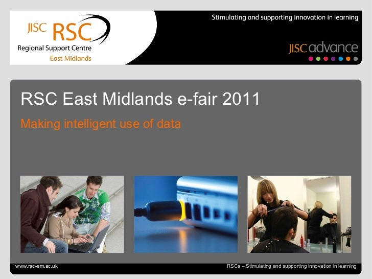 Go to View > Header & Footer to edit July 4, 2011   |  slide  RSCs – Stimulating and supporting innovation in learning RSC...