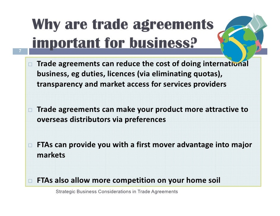 L Price Overview Of Trade Agreements