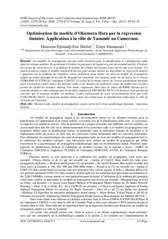 IOSR Journal of Electronics and Communication Engineering (IOSR-JECE) e-ISSN: 2278-2834,p- ISSN: 2278-8735.Volume 10, Issu...