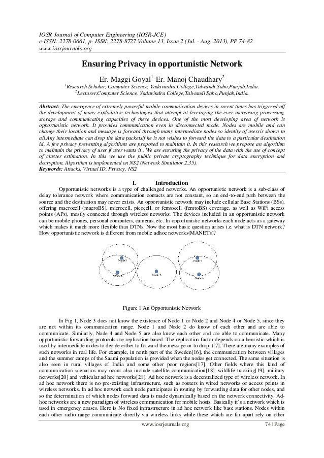 IOSR Journal of Computer Engineering (IOSR-JCE) e-ISSN: 2278-0661, p- ISSN: 2278-8727 Volume 13, Issue 2 (Jul. - Aug. 2013...