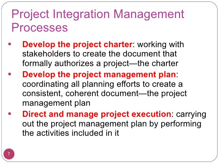 L03 integration management for Project planning quotes