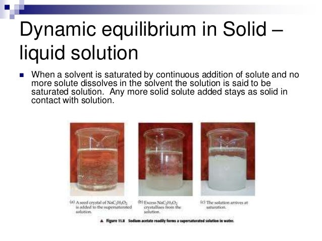 What happens if a solute is added to a saturated solution?