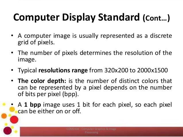 COM2304: Color and Color Models