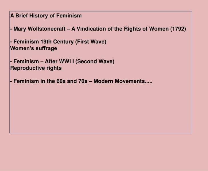 Feminism in Politics: Definition, Development and Types