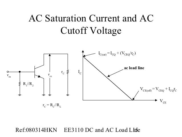 L07 dc and ac load line