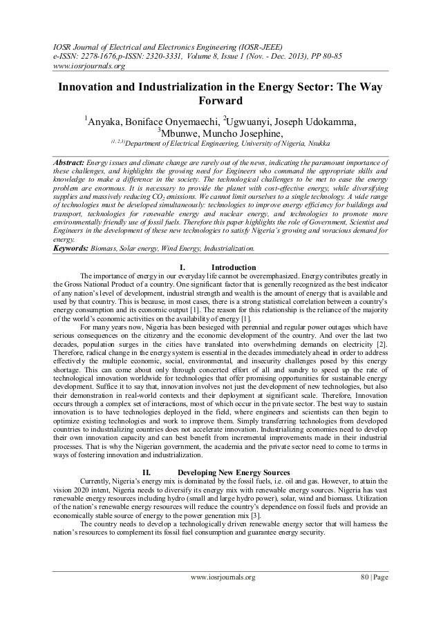 IOSR Journal of Electrical and Electronics Engineering (IOSR-JEEE) e-ISSN: 2278-1676,p-ISSN: 2320-3331, Volume 8, Issue 1 ...