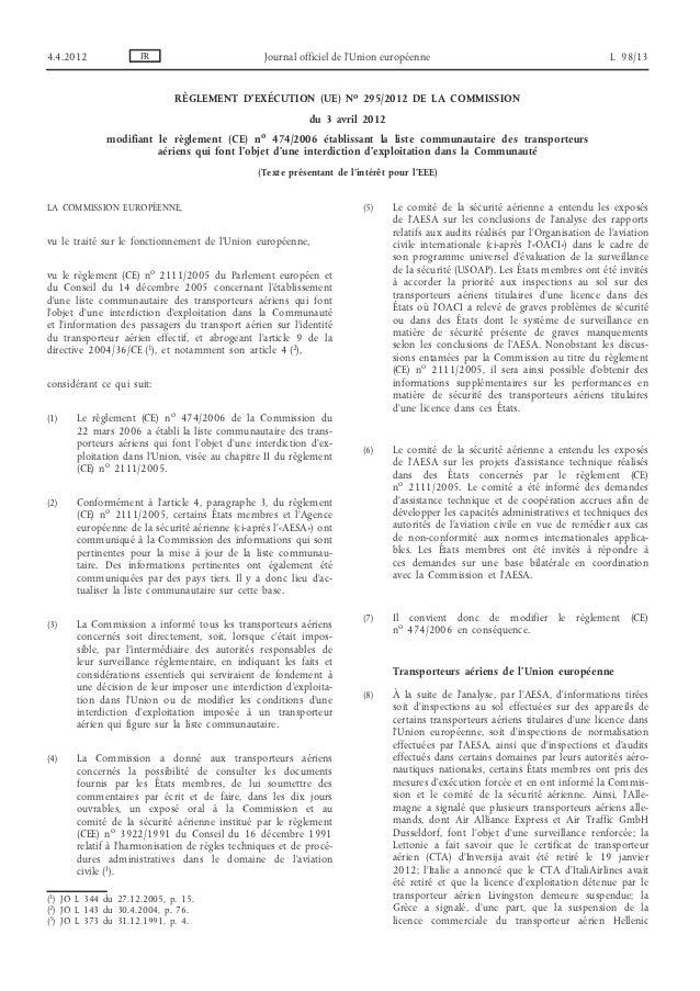 4.4.2012             FR                          Journal officiel de l'Union européenne                                   ...