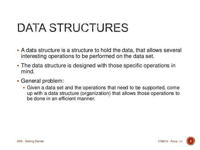 advanced data structure project Get latest updates about open source projects, conferences and news.