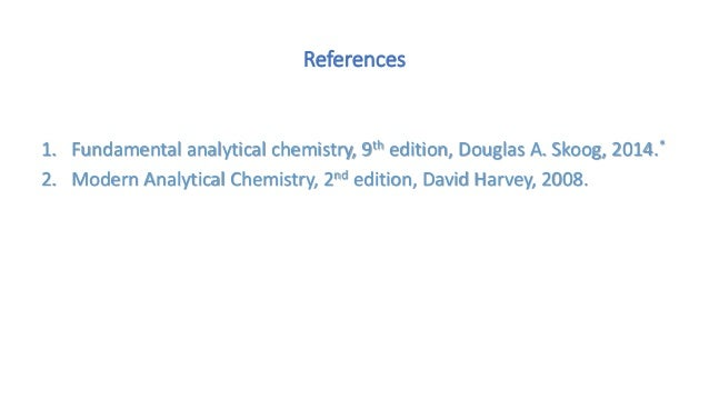 introduction to analytical chemistry skoog pdf