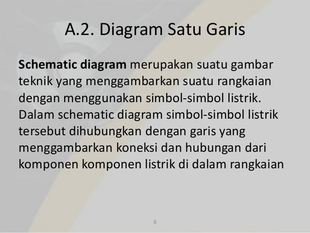 L1 pengantar gambar listrik gambar schematic 5 6 a2 diagram satu garis ccuart Images