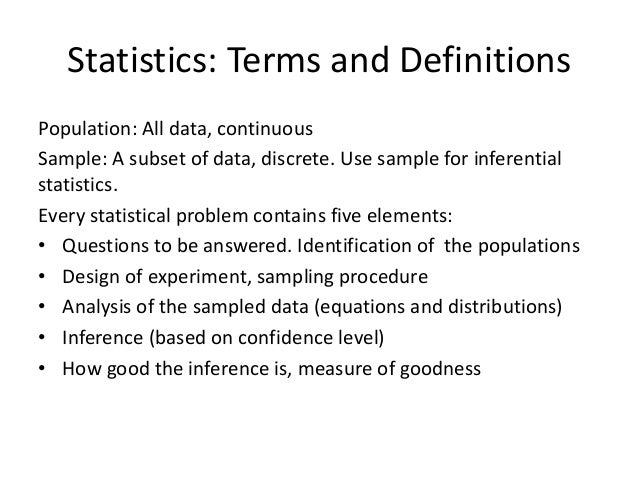 STATISTICAL TERMS DEFINITIONS EPUB DOWNLOAD