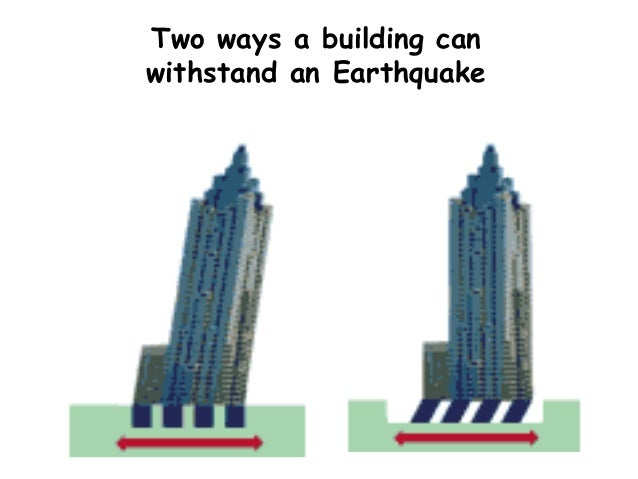 How Can Building Be Made Earthquake Proof