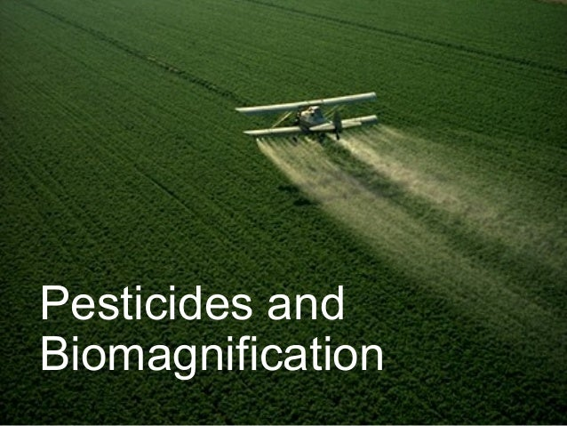 Pesticides and Biomagnification