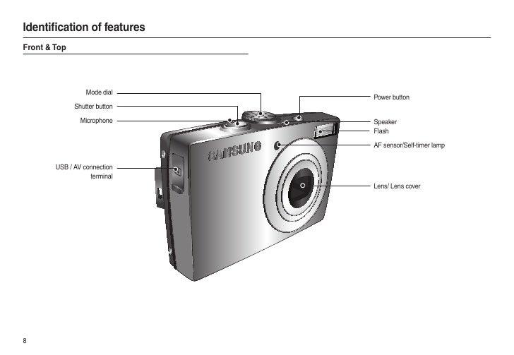 samsung camera l100 user manual rh slideshare net Camera Camera Case for Samsung L100 Samsung Camera L100 USB Cable