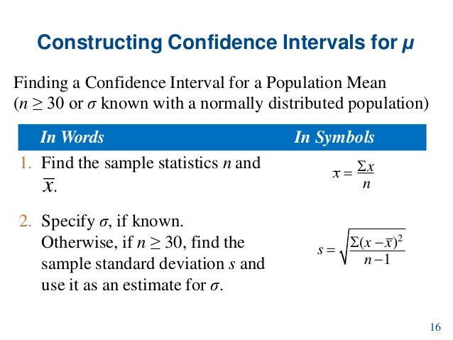 L10 confidence intervals 16 constructing confidence intervals ccuart Images