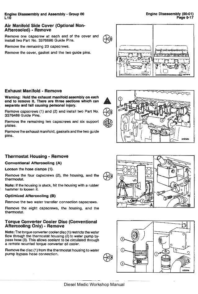 L10 Cummins Series Workshop Manual