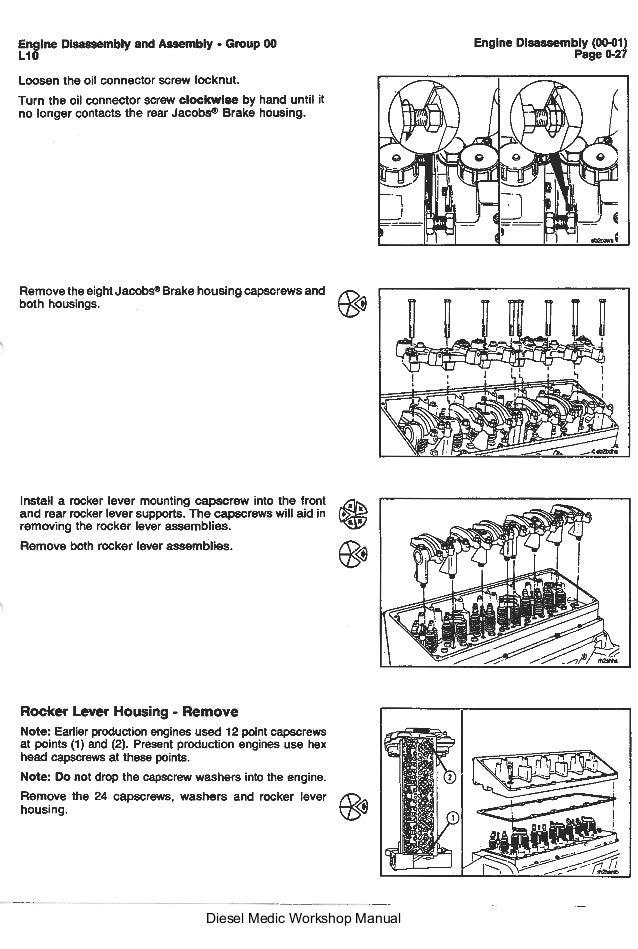 l10 cummins series workshop manual rh slideshare net Cummins ISX Engine Diagram Cummins N14 Manual