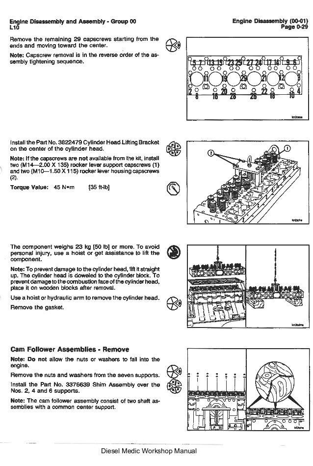 l10 cummins series workshop manual rh slideshare net Cummins N14 Manual Cummins ISX Service Manual