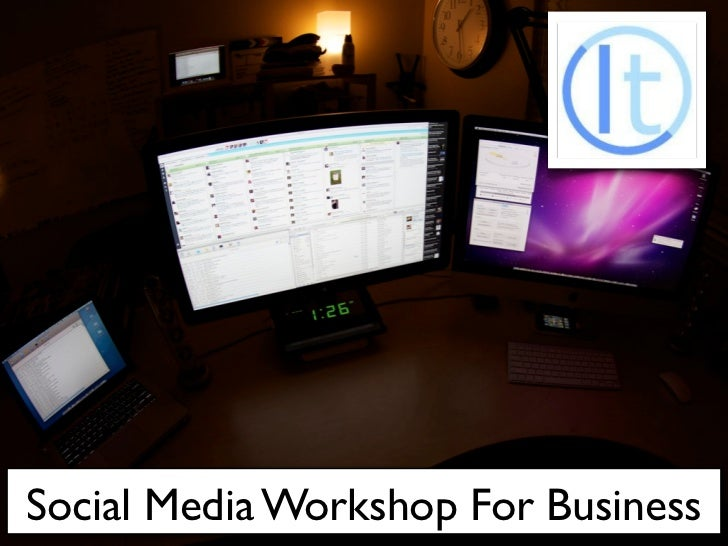 Social Media Workshop For Business