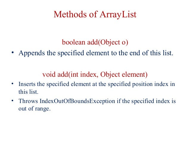 how to add an object into arraylist