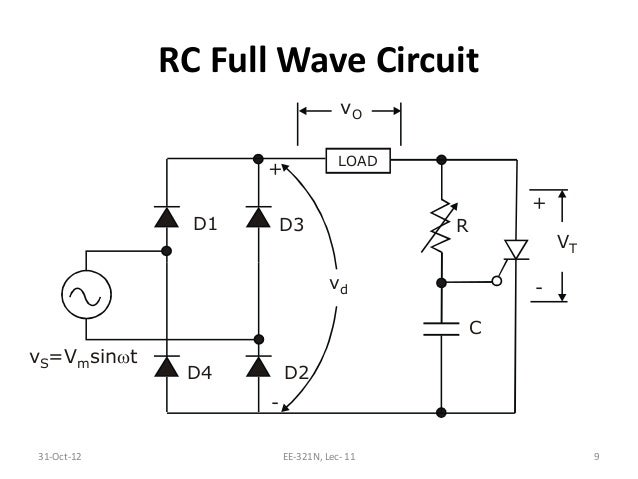 l11 rc triggering circuit Simple Capacitor Circuit