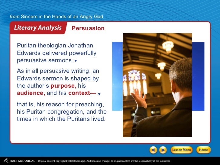 sinners in the hands of an angry god analysis essay Essays from bookrags provide great ideas for sinners in the hands of an angry god essays and paper topics like essay view this student essay about sinners in the hands of an angry god.