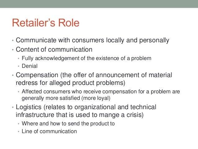 Managing product-harm crises