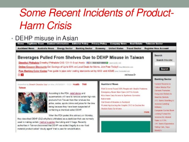 product harm With the expansion of tobacco product options, a better understanding is needed of how information about the known and unknown risks of products is communicated to the public engaging in comparative processes is an common way for people to understand novel products, but the referent of.
