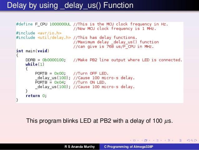 http www nongnu org avr libc user manual modules html