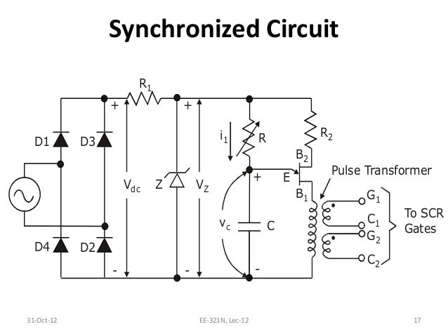 l12 ujt based triggering circuit