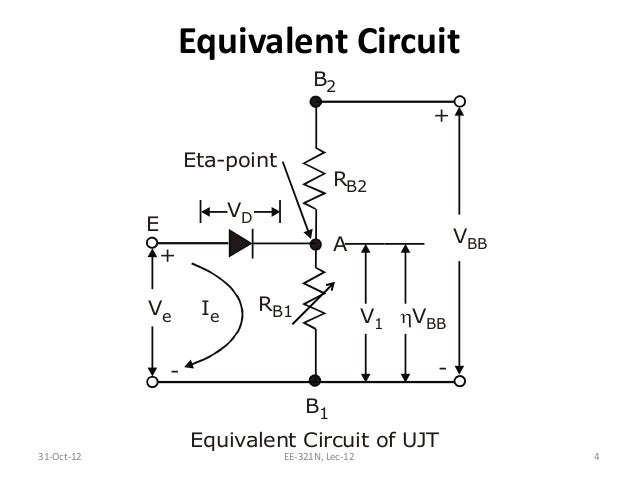 l12 ujt based triggering circuit