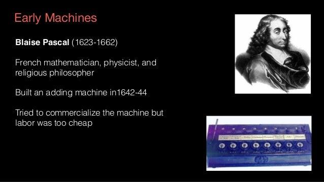 Wilhelm von Leibniz (1646-1716) German mathematician and philosopher Built a machine, the Leibniz Wheel that could multipl...