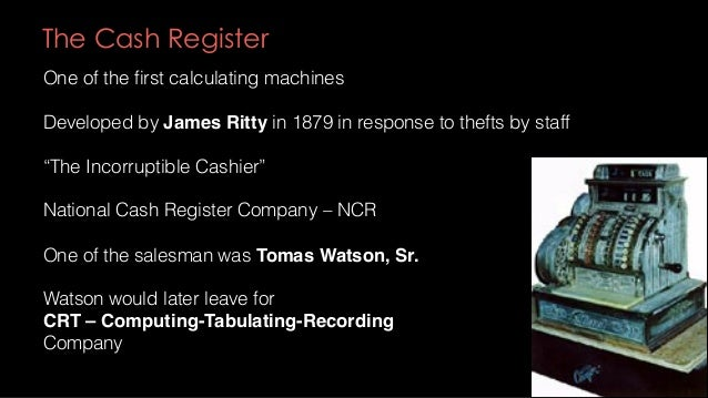 Tabulating Machines In the US need for data processing was growing  One application was census taking  US population grew ...