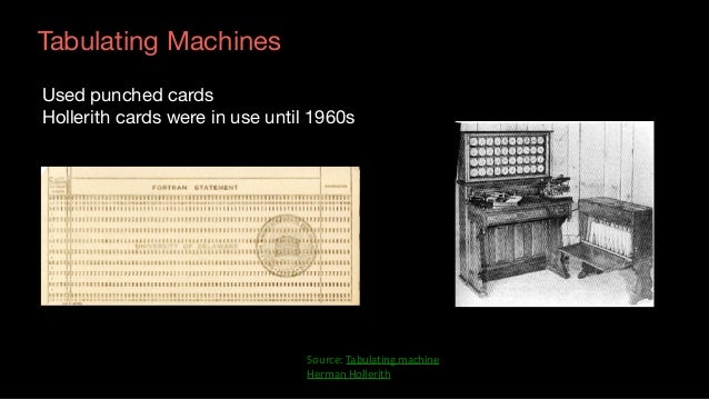 Lessons: Early Computing Machines ▪ Early machines could not compete with manual labor   – The cost was not low enough to...
