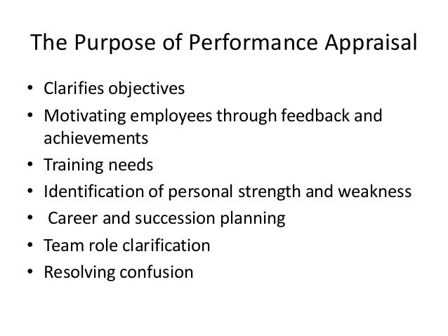 performance appraisal and employee motivation