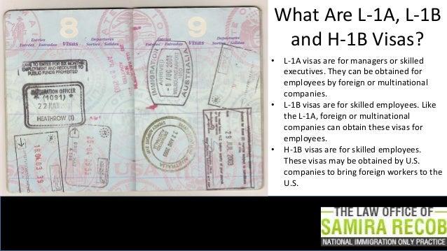 L-1B $ L-2B vs  H-1B: Finding the visa That Works for You