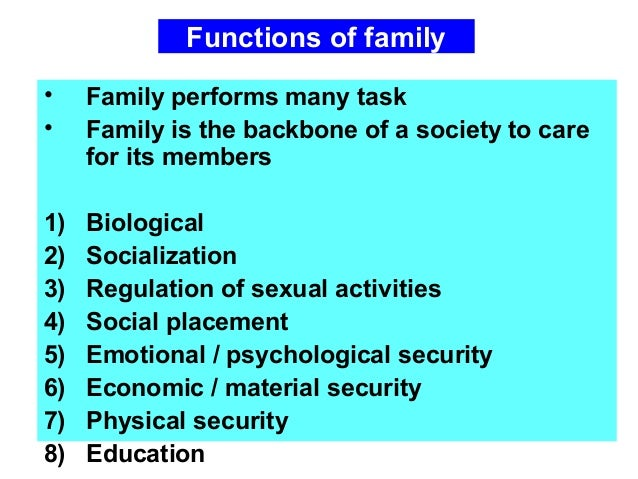 L1 familly structure function comprehensive care
