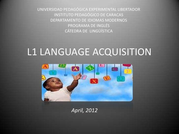 UNIVERSIDAD PEDAGÓGICA EXPERIMENTAL LIBERTADOR         INSTITUTO PEDAGÓGICO DE CARACAS       DEPARTAMENTO DE IDIOMAS MODER...